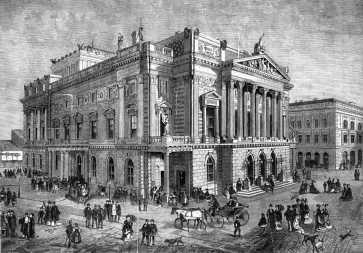 Népszínház, 1870-es évek, réznyomat