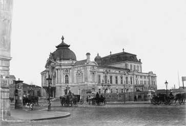 A Vígszínház, 1897, egy korabeli amatőr album felvételén