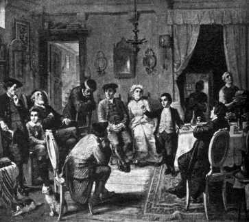 Barmicvó, 1880-as évek, Moritz Daniel Oppenheim festménye